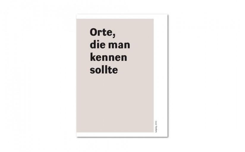 Dieter Daniels / Torsten Hattenkerl »Orte, die man kennen sollte«